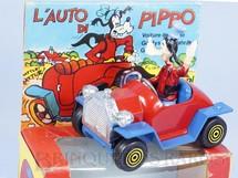 1. Brinquedos antigos - Politoys e Polistil - Le Auto di Pippo Carro do Pateta 8,00 cm de comprimento Walt Disney Polistil Década de 1970