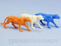 1. Brinquedos antigos - Casablanca e Gulliver - Leoa diversas cores Série Zoológico Década de 1970 Preço por unidade