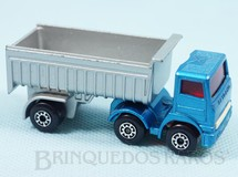 Brinquedos Antigos - Matchbox - Leyland Articulated Truck Superfast cabine azul