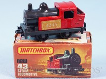 1. Brinquedos antigos - Matchbox - Locomotiva 040 Steam Locomotive Superfast