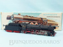 1. Brinquedos antigos - Marklin - Locomotiva a Vapor Classe BR 01 Rodagem 2`C1` DB Número 3048 previsão para colocar Gerador de Fumaça Comprimento 28,00 cm Ano 1961 a 1963