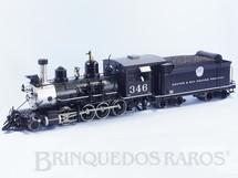 1. Brinquedos antigos - Accucraft Trains - Locomotiva C-19 Classe Consolidation 2-8-0 Denver & Rio Grande R.R. com 78,00 cm de comprimento e 7,2 Kg de peso Bitola 45,0 mm