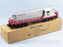1. Brinquedos antigos - Lionel - Locomotiva Diesel GP-7 Burlington 2328 Ano 1955 a 1956