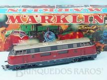 1. Brinquedos antigos - Marklin - Locomotiva Diesel Hidraúlica Classe BR V200 Rodagem Co`Co` DB Número 3021 Classificação Koll`s 3021/12 Ano 1970 a 1984 Comprimento 22,00 cm