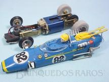 1. Brinquedos antigos - Estrela - Lotus 38 Fórmula 1 Azul 100% original Chassi de latão Ano 1968