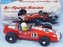 Brinquedos Antigos - Sem identificação - Lotus 38 Fórmula Indy Hi Speed Racer com 30,00 cm de comprimento Sistema Bate e Volta Década de 1970