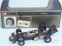 Brinquedos Antigos - Corgi Toys - Lotus 72C John Player Special Edição Comemorativa Emerson Fittipaldi Ano 1973