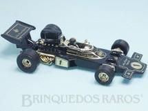 1. Brinquedos antigos - Corgi Toys - Lotus 72C John Player Special Edição Comemorativa Emerson Fittipaldi Ano 1973