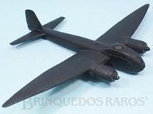 1. Brinquedos antigos - Sem identificação - Maquete do Avião Bombardeiro Noturo Junkers JU188 com 30,00 cm de envergadura utilizada para treinamento de Pilotos da RAF e da população em geral Ano 1944