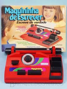 1. Brinquedos antigos - Glasslite - Maquininha de Escrever com 29,00 cm de largura Década de 1990