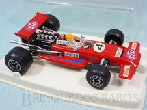 1. Brinquedos antigos - Politoys e Polistil - March 701 Fórmula 1 piloto Mario Andretti Politoys Ano 1970