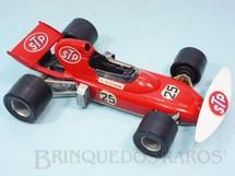 1. Brinquedos antigos - Politoys e Polistil - March Ford 721 Formula 1 piloto Ronnie Peterson Politoys Ano 1972