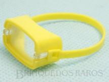Brinquedos Antigos - Estrela - Máscara de mergulho amarela Aventura Ameaça Submarina Ano 1979