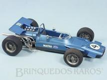 1. Brinquedos antigos - Schuco - Matra Ford Fórmula 1 com 22,00 cm de comprimento Década de 1970