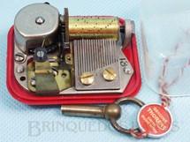 1. Brinquedos antigos - Thorens - Dispositivo de música com 5,00 cm de base Melodia Canção de ninar Rock A Bye Baby Lullaby Década de 1950