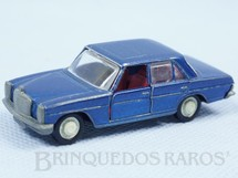 1. Brinquedos antigos - Schuco - Mercedes Benz 200 azul metálico