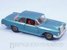 1. Brinquedos antigos - Solido-Brosol - Mercedes Benz 220 SE azul metálico Fabricada pela Brosol Solido brésilienne Datada 3-1963