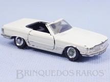 1. Brinquedos antigos - Schuco-Rei - Mercedes Benz 350 SL Cabrio branca Brasilianische Schuco Rei