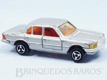 1. Brinquedos antigos - Majorette - Mercedes Benz 450 SE prata Década de 1980