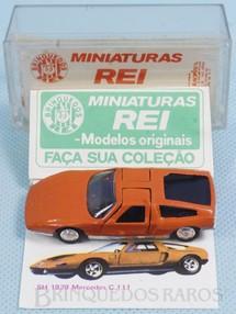 Brinquedos Antigos - Schuco-Rei - Mercedes Benz C-111 Brasilianische Schuco Rei completo com Catálogo e Cromo