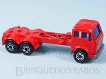 1. Brinquedos antigos - Matchbox - Mercedes Benz Container Truck Superfast