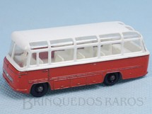 1. Brinquedos antigos - Matchbox - Mercedes Coach black plastic Regular Wheels