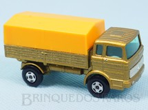 1. Brinquedos antigos - Matchbox - Mercedes Truck Superfast Transitional Weels dourado