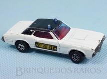 Brinquedos Antigos - Corgi Toys-Corgi Jr. - Mercury Cougar XR7 Sheriff Corgi Jr Whizzwheels