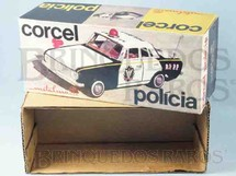 1. Brinquedos antigos - Metalma - Metalma Caixa Corcel Polícia Ano 1973