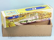 Brinquedos Antigos - Metalma - Metalma Caixa Ônibus Diplomata Expresso Brasileiro