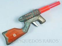 1. Brinquedos antigos - Estrela - Metralhadora com dois canos Solta Faíscas 39,00 cm de comprimento Ano 1965