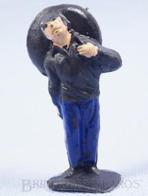 1. Brinquedos antigos - Casablanca e Gulliver - Mexicano ferido Habitante da aldeia Calça azul Série O Zorro distribuído pela Trol Década de 1970
