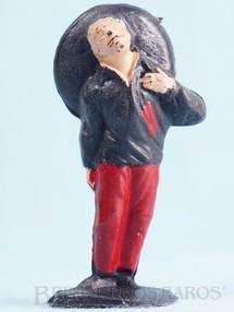 Brinquedos Antigos - Casablanca e Gulliver - Mexicano ferido Habitante da aldeia Cal�a vermelha S�rie O Zorro distribu�do pela Trol D�cada de 1970