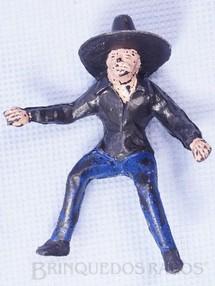 1. Brinquedos antigos - Casablanca e Gulliver - Mexicano montado a cavalo Habitante da Aldeia Série O Zorro distribuído pela Trol Década de 1970
