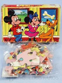 1. Brinquedos antigos - Estrela - Mini Quebra Cabeça Disney embalagem lacrada Década de 1970