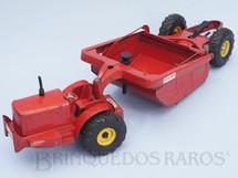 1. Brinquedos antigos - Doepke Model Toy - Motor Scraper Heiliner com dispositivo hidráulico operacional 65,00 cm de comprimento Década de 1950