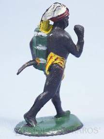 1. Brinquedos antigos - Casablanca e Gulliver - Nativo Caçador com Arco Série Safari na África Década de 1960
