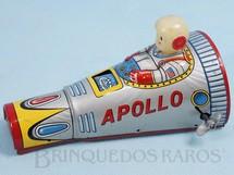 Brinquedos Antigos - Modern Toys e Masudaya Toys - Nave Espacial Apollo com 14,00 cm de comprimento Ano 1968
