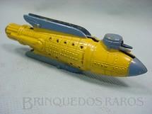 1. Brinquedos antigos - Tootsietoy - Nave Espacial Battle Cruiser amarela com 12,00 cm de comprimento Buck Rogers 25th Century Rocket Ships Ano 1937
