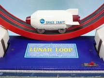 1. Brinquedos antigos - Daiya - Nave espacial com 11,00 cm de comprimento Nasa Lunar Loop Década de 1970