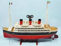 1. Brinquedos antigos - Bing - Navio com 34,00 cm de comprimento Ano 1928
