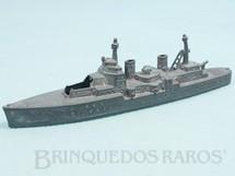 Brinquedos Antigos - Tootsietoy - Navio de Guerra com 14,00 cm de comprimento Década de 1950