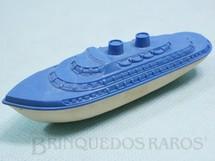 1. Brinquedos antigos - Banner - Navio de passageiros Importado e Distribuído pela Estrela 10,00 cm de comprimento Ano 1947