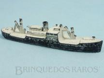 1. Brinquedos antigos - Tootsietoy - Navio Mercante com 11,00 cm de comprimento Década de 1950