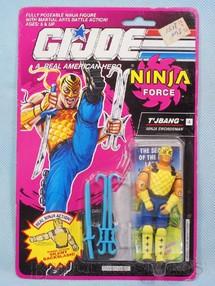 1. Brinquedos antigos - Hasbro - Ninja Force T`jbang completo Blister lacrado Ano 1991
