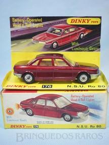1. Brinquedos antigos - Dinky Toys - NSU Ro80 acende os faróis dianteiros e traseiros Ano 1969