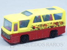 1. Brinquedos antigos - Majorette-Kiko - Ônibus Minibus Majorette Brésilien Kiko Década de 1980
