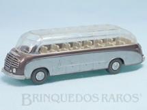 1. Brinquedos antigos - Wiking - Onibus Setra S8 com teto transparente Década de 1960