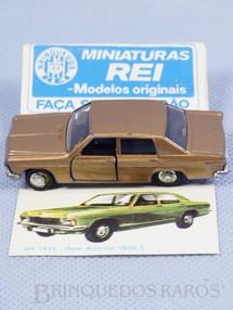 1. Brinquedos antigos - Schuco-Rei - Opel Admiral 2800E Schuco Modell Brasilianische Schuco Rei com Catálogo e Cromo