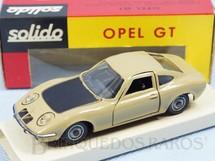 1. Brinquedos antigos - Solido-Brosol - Opel GT camurça Fabricado pela Brosol Solido brésilienne Datado 2-1969